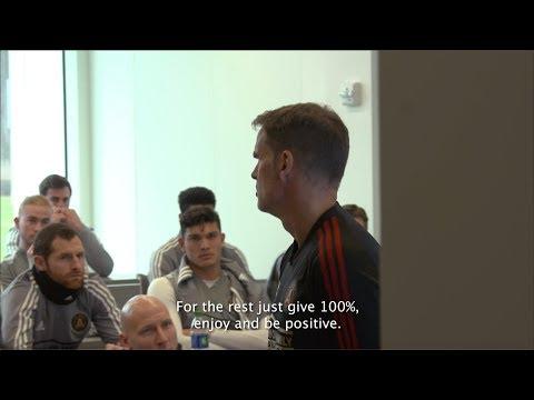 Mic'd Up: Frank de Boer's first message to the team