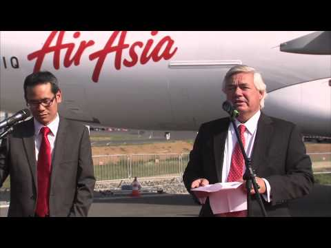 ILA Berlin 2012 - AirAsia will be the first airline to operate A320 with Sharklets