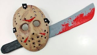 FRIDAY the 13th - JASON'S MASK and MACHETE