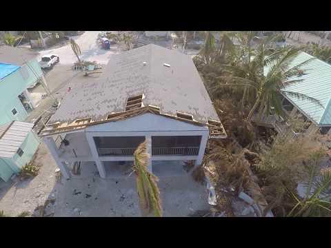 Karma Drone Flight - Summerland Key, FL 33042 Post Irma. Caribbean Drive E