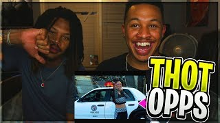 "BHAD BHABIE - ""Thot Opps (Clout Drop) / Bout That""  Official Video Reaction