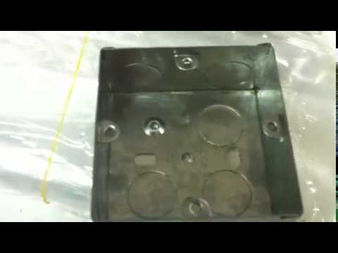 Honger Metal Stamping Line for Electrical Junction Box Making