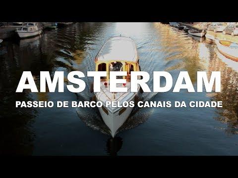 Um passeio pelos canais de Amsterdam - Holanda l Ep.4