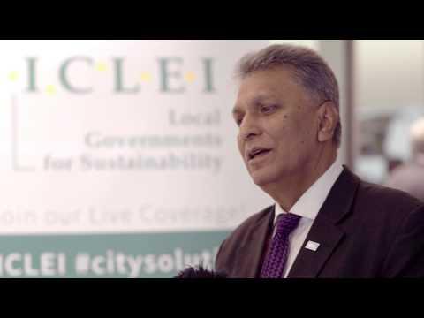 ICLEI World Congress 2015: Mohamed Hilmy, Mayor of Matale, Sri Lanka