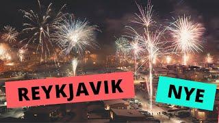 New Year's Eve Fireworks | Reykjavik Iceland (2019)