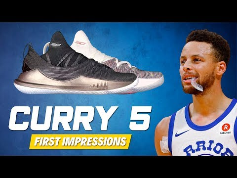 Under Armour Curry 5 RELEASE DATE? + First Impressions