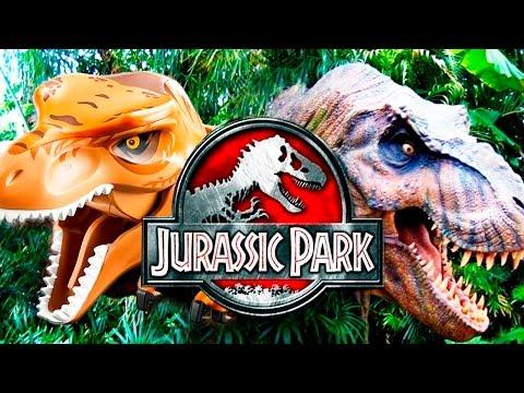 LEGO dinosaurs vs movies | Jurassic Park | Simon Play