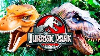 Лего мультик про динозавров против кино | Парк юрского периода | Lego vs Movie | Лего динозавры
