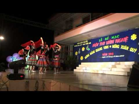 Hội thi văn nghệ MỪNG ĐẢNG MỪNG XUÂN QUÝ TỴ 2013 - Trường THCS Lê Văn Việt