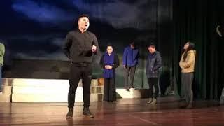 { Sân khấu chèo 2018 } Quốc Phòng và Thanh Loan  vở Trần Anh Tông  Nhà hát chèo Hà Nội