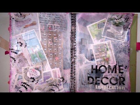 C mo hacer un collage con hojas de revista tutorial youtube - Como hacer un collage de fotos a mano ...