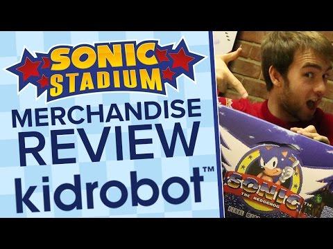 Sonic X Kidrobot Figure Unboxing! - The Sonic Stadium Merchandise Review