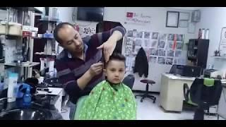 Erkek çocuk saç kesimi