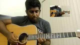 Ilaya Nila Second Interlude |  Guitar Solo Lead Cover | Ashwin Asokan