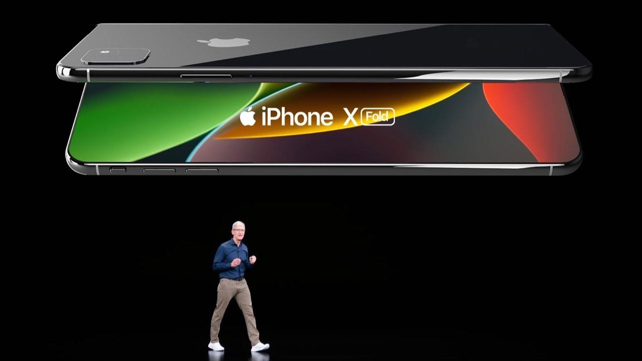 Iphone Xi Fold Trailer Foldable Iphone 11