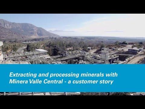 Atlas Copco - Minera Valle Central mining application movie