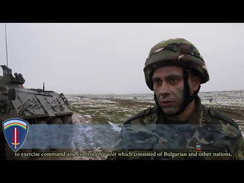 DFN:Bulgarian,US Army Soldiers Conduct Combined Training Exercise, NOVO SELO, BULGARIA, 03.23.2018
