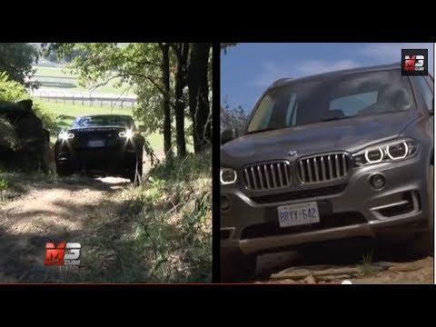 RANGE ROVER SPORT VS BMW X5 2014  TEST DRIVE  YouTube