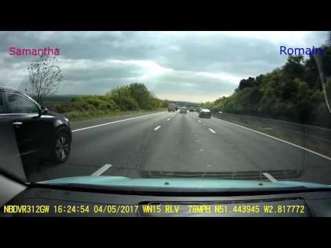 Road Trip Dashcam: Bristol To Cornwall