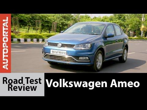 Volkswagen Ameo Test Drive Review - Autoportal