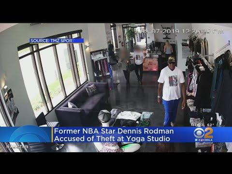 Crash & AJ - Is That Dennis Rodman Stealing From A Yoga Studio??