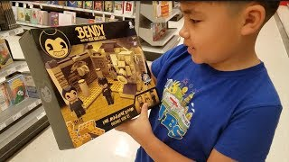 Hunt for Bendy And The Ink Machine Buildable Set!