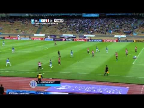 Belgrano venció a Estudiantes y lo desplazó del acceso a la Liguilla Pre Libertadores