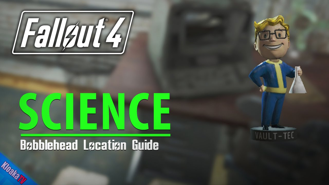 fallout 4 science bobblehead location guide youtube