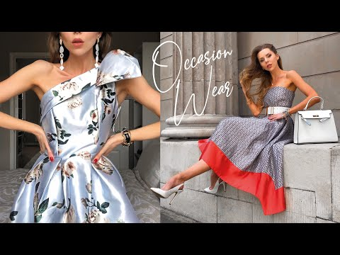 OCCASION DRESS HAUL & TRY ON // Wedding Guest, Prom, The Races, Graduation