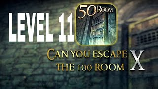 Can You Escape The 100 room X level 11  Walkthrough