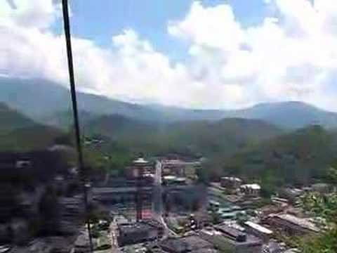 Chair Lift in Gatlinburg Tennessee  YouTube