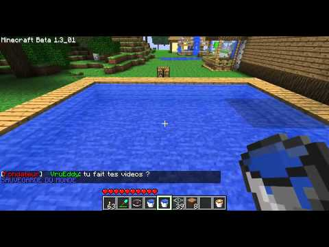 Minecraft les mdc 3 piscine sans courant youtube for Les piscines