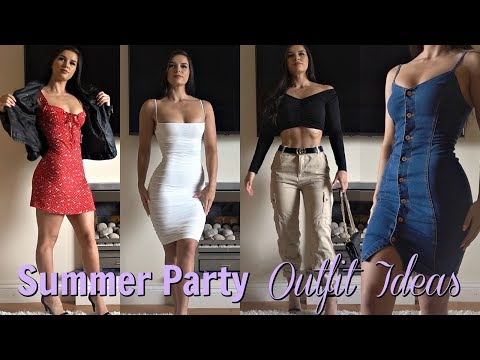 Summer Party Outfit Ideas | My Current Favourites!