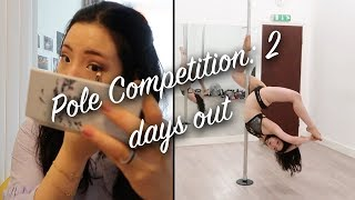 First Pole Dance Competition Ever (2 days out)   London Pole Varsity 2019