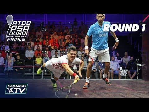 Squash: World Series Finals 2017/18 - Men\'s Rd 1 Roundup