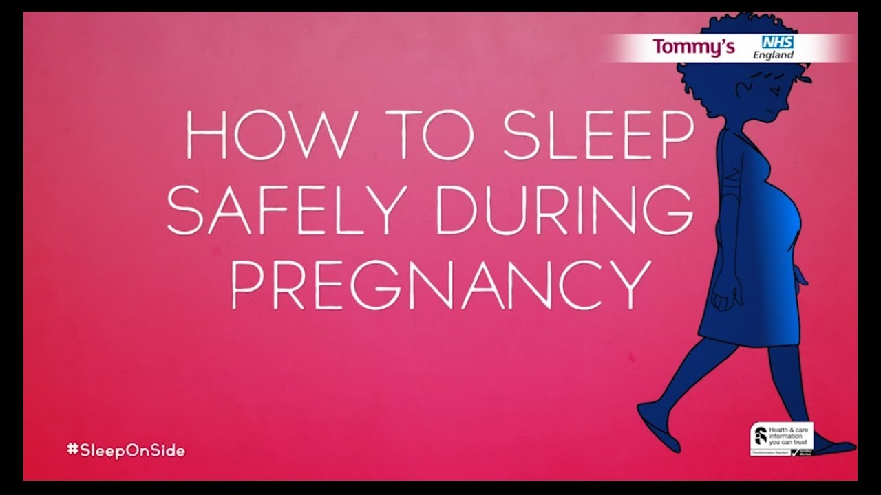 Sleep position in pregnancy Q&A | Tommy's
