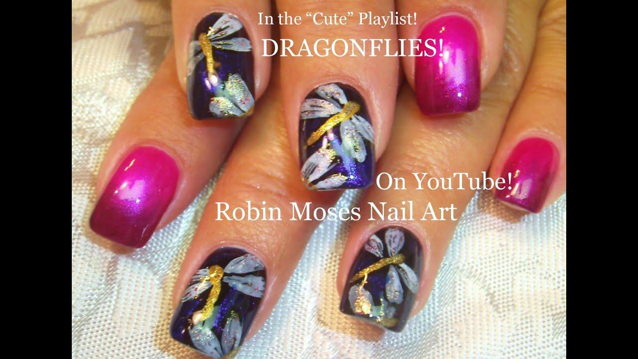 nail art tutorial easy spring