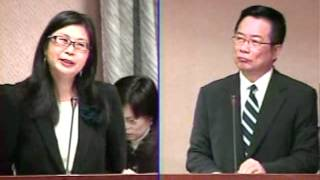 2012-3-26 立法委員蔡正元質詢行政院大陸委員會主任委員賴幸媛