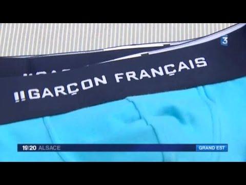 France 3 : reportage sur le textile à Troyes, avec Garçon Français et Petit Bateau.