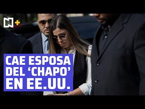 Emma Coronel, esposa de 'El Chapo' Guzmán, es detenida en Estados Unidos | #NoticierosTelevisaPlus