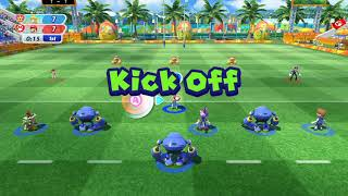 Mario and Sonic at The Rio 2016 Olympic Games - Rugby Sevens-Team Peach vs Team Mario