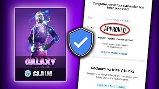 Fortnite Galaxy Skin: How to CLAIM and UNLOCK it Properly! (Preorder and More)