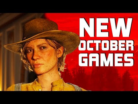Top 10 NEW Games of October 2018
