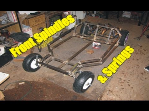 Two Seater Go Kart Build 5 Spindles