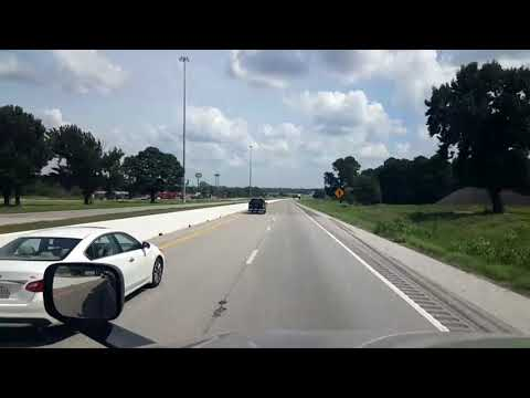 BigRigTravels LIVE! Interstate 20 Eastbound in east Texas and into Louisiana