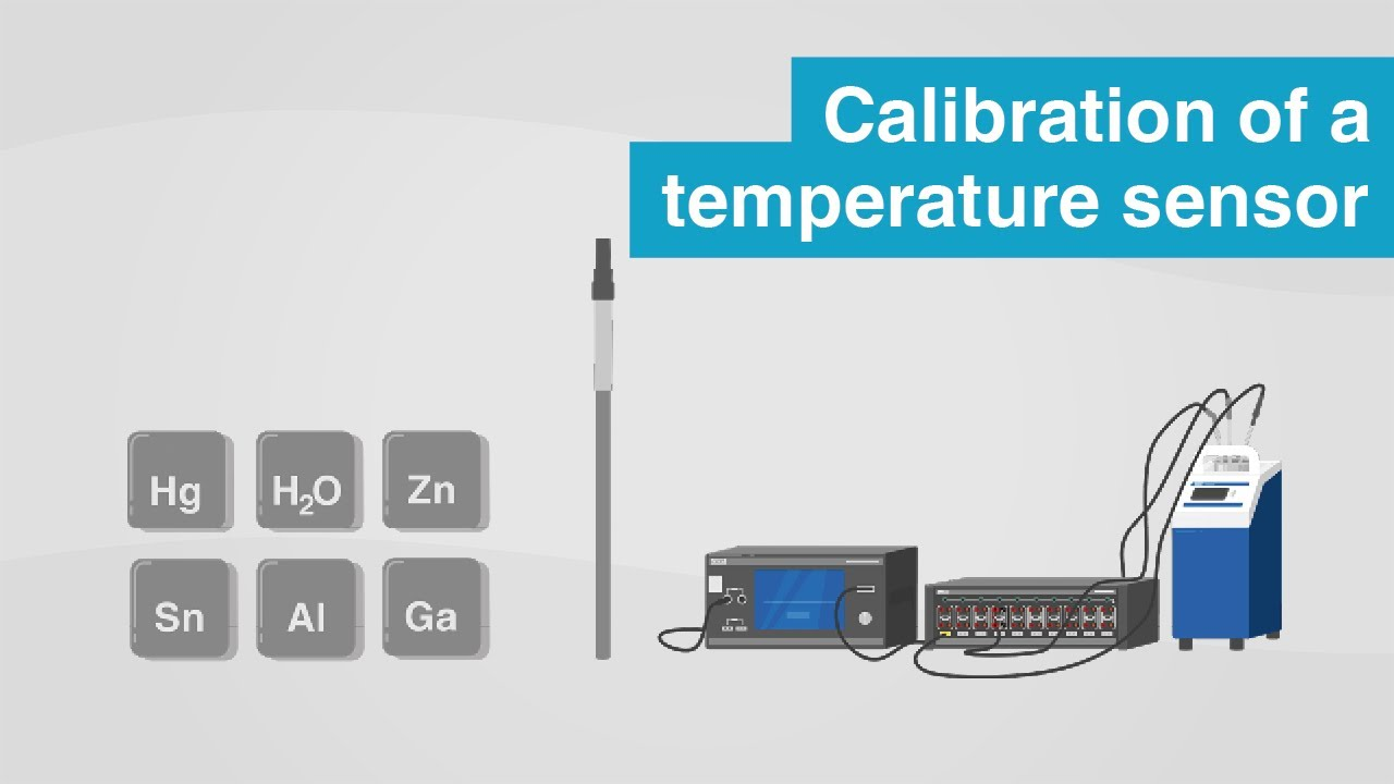 How to calibrate a temperature sensor | Comparative calibration vs. fixed-point calibration