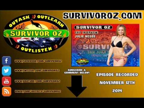 Survivor Oz  Julie McGee San Juan Del Sur Exit