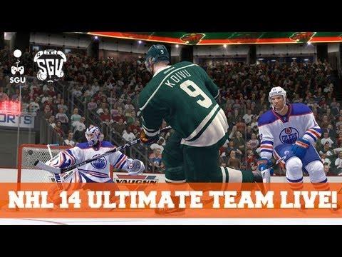 NHL 14 Live! - Ultimate Team Start Up