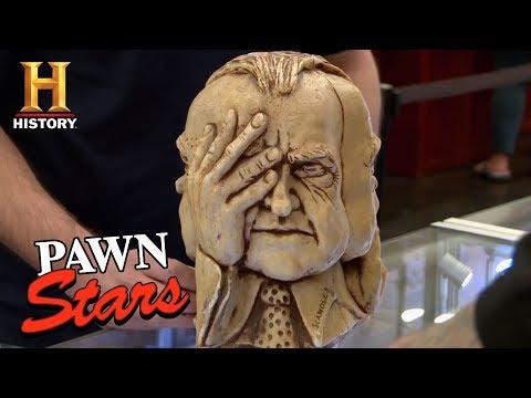 Pawn Stars: Victorian Era Mourning Lithograph   History   Doovi