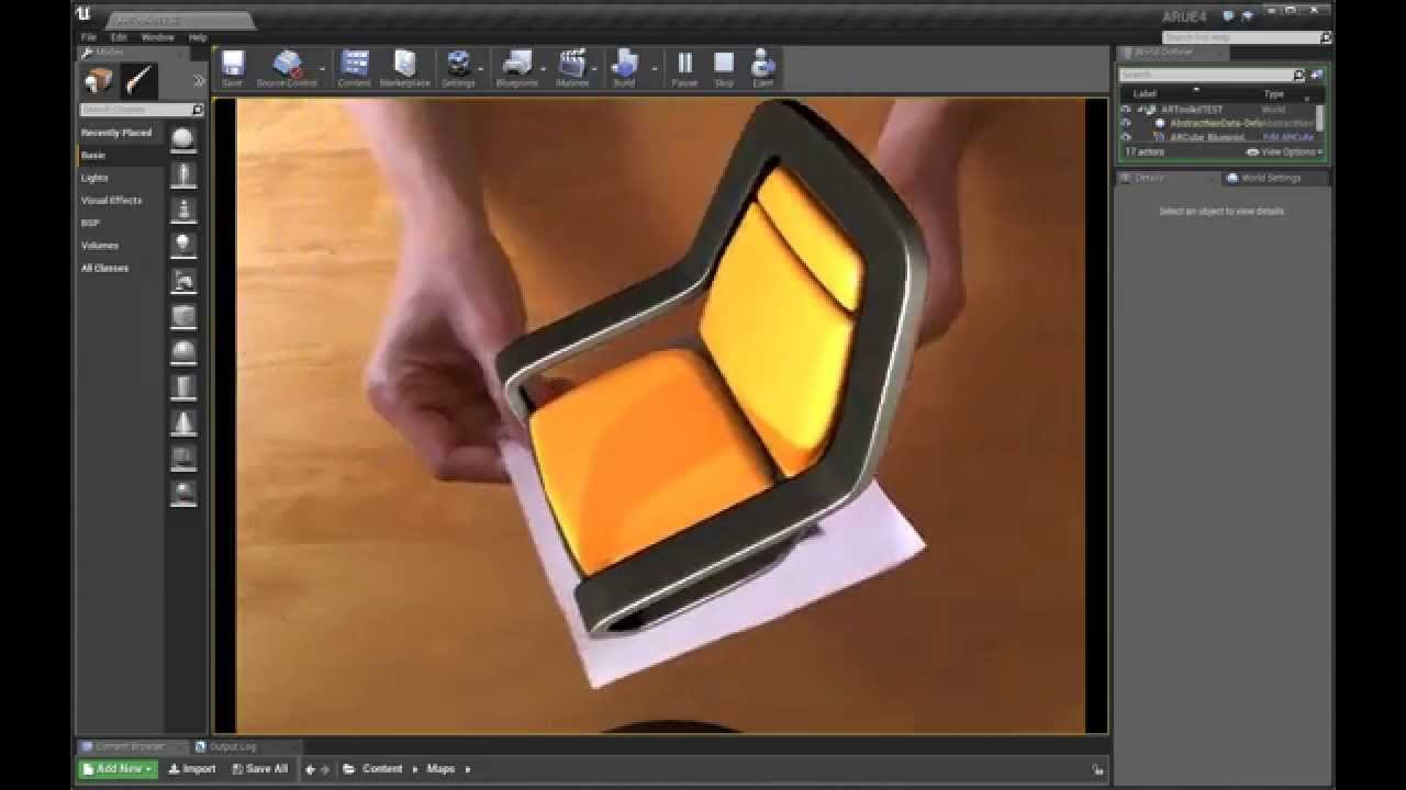 Augmented reality for ue4 unreal engine forums augmented reality for ue4 malvernweather Images